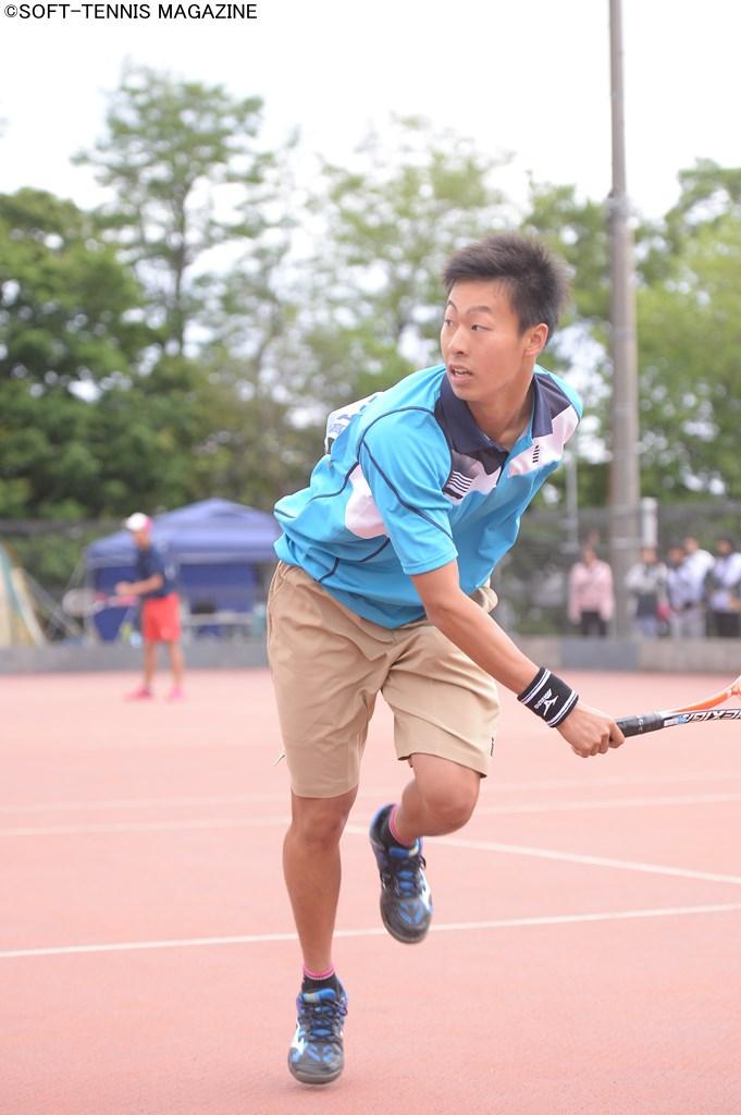 現役高校生でただ一人の日本代表である上松が、地元インハイに臨む PHOTO/HIDETO IDE