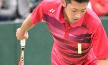 会場をうならす剛速球を披露した3位の林田和樹(/川淵泰直・ヨネックス)
