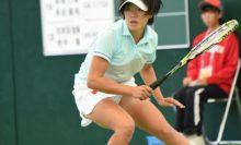 志牟田智美/地中葵(神戸松蔭女子学院大)は8月のインカレダブルスも制覇している