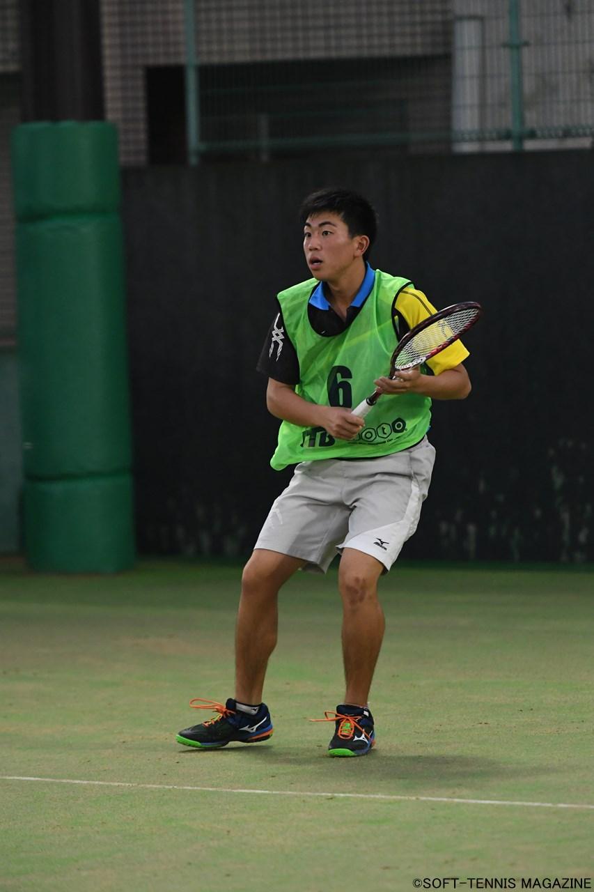 U-17男子ダブルス 優勝:村田優