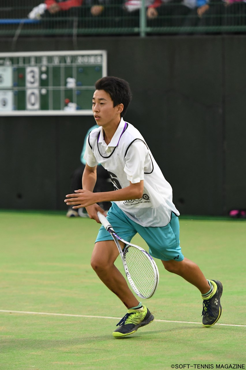 U-14男子ダブルス優勝:桑山信