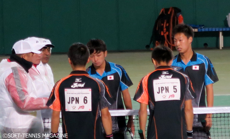 船水/上松は準決勝で篠原/小林をファイナルで下した