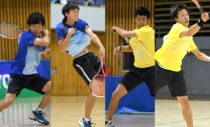 内本/丸山(早稲田大1年/明治大1年)と本倉/上松(岡山理大附高3年)の10代4名が決勝を争った。本倉組は高校生男子初の決勝進出