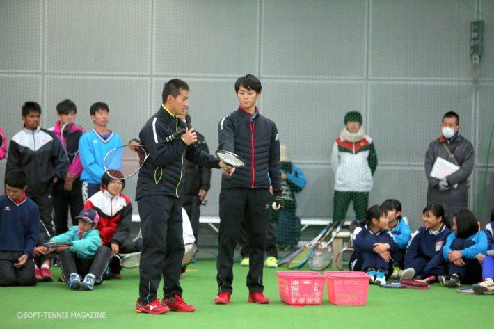 ミズノの前衛ふたり。小林幸司選手(左)に九島一馬選手