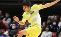 東京インドア優勝の本倉健太郎はU-17からU-20に