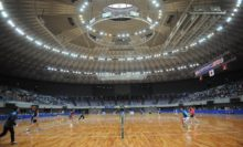 大阪市中央体育館に日本のトッププレーヤーが集結!