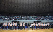 開会式では、2016年11月のアジア選手権日本代表メンバーを紹介