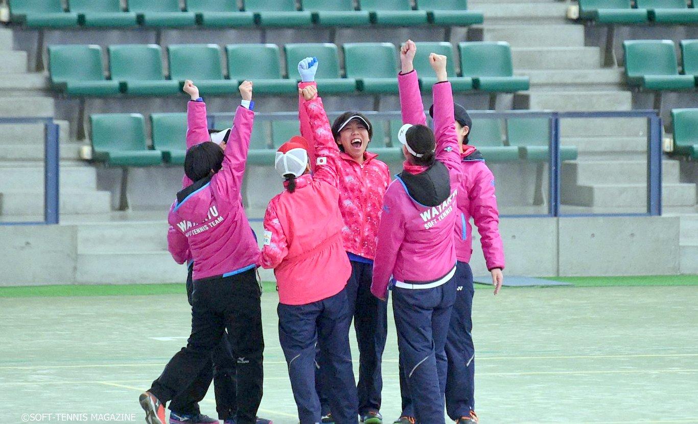 ミニミニカップ初参加のワタキューセイモアは、初日リーグがどんぐり北広島との対戦で二次リーグは2位チームリーグに回ったが、2日目は危なげなく1位通過、神戸松蔭女子学院大との9、10位決定戦も制した。大量5名の新人が加入予定