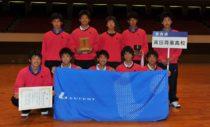 昨年男子優勝の高田商業。優勝を決めた阪本/北本ら、当時1年生メンバーも活躍