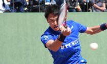NTT西日本広島の2年連続10回目の優勝を決めた船水雄太
