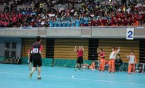ベンチも、スタンドも熱量がすごかった北海道科学大(北海道)。男子4強入りで女子も応援に加勢