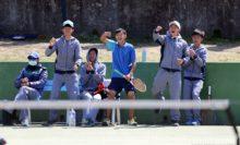 台湾チームが参戦! 将来国際大会でぶつかるかもしれない高校生の選抜チームだ。メンバーの1人はシングルスで優勝