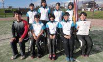 岩手県女子団体で優勝を果たした水沢