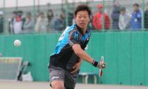 2016年アジア選手権で日本男子史上初の高校生ダブルス王者に輝いた上松の勝つために必要なこととは? 写真◎川口洋邦