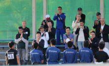 NTT西日本選手の試合には、2日間多くの応援が駆けつけた