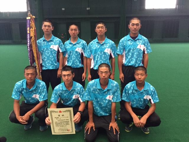 団体・男子優勝の延岡学園は、センバツ県予選では2位。夏、出場権を勝ち取った