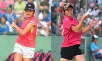 高2のインハイで貝瀬(左)は優勝、吉田は3位。和歌山信愛と昇陽は準決勝で対戦し、直接対決はなかったが、貝瀬たちが勝利