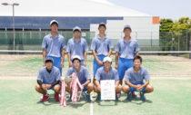 大阪・男子優勝の上宮。連覇を13に伸ばした