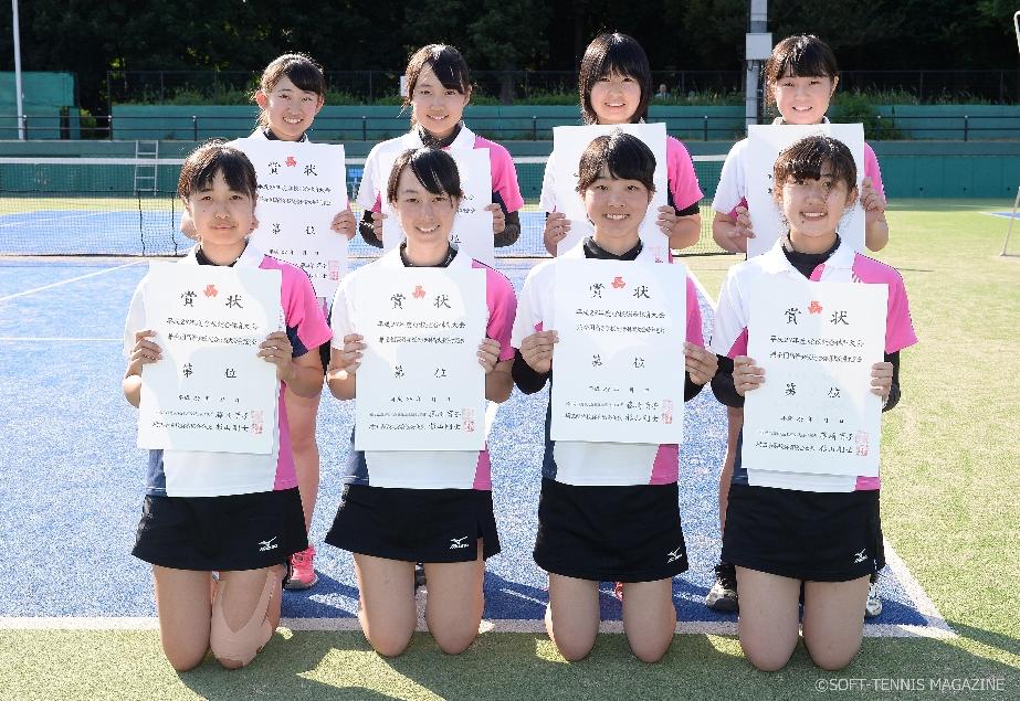女子団体3位・熊谷女子