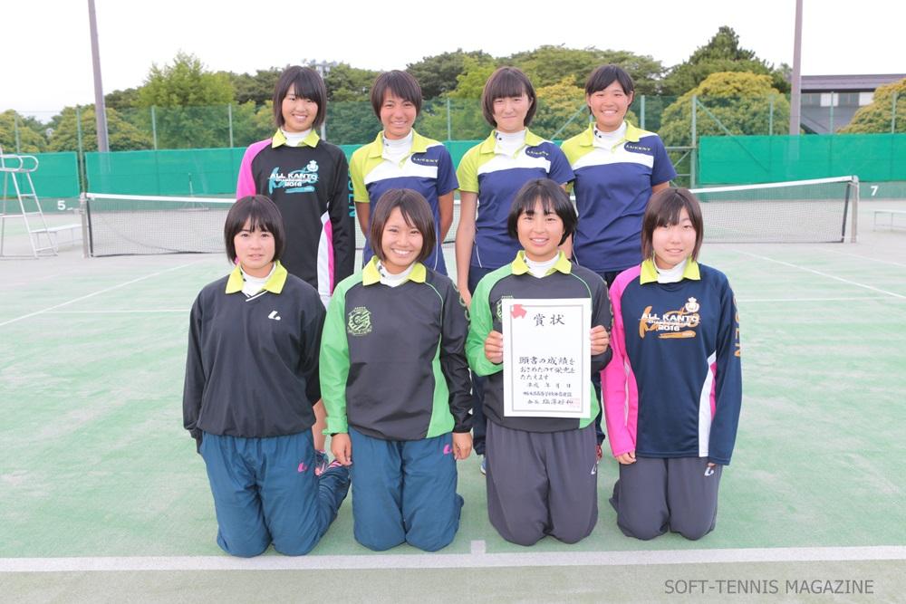 栃木・女子団体3位の文星女子