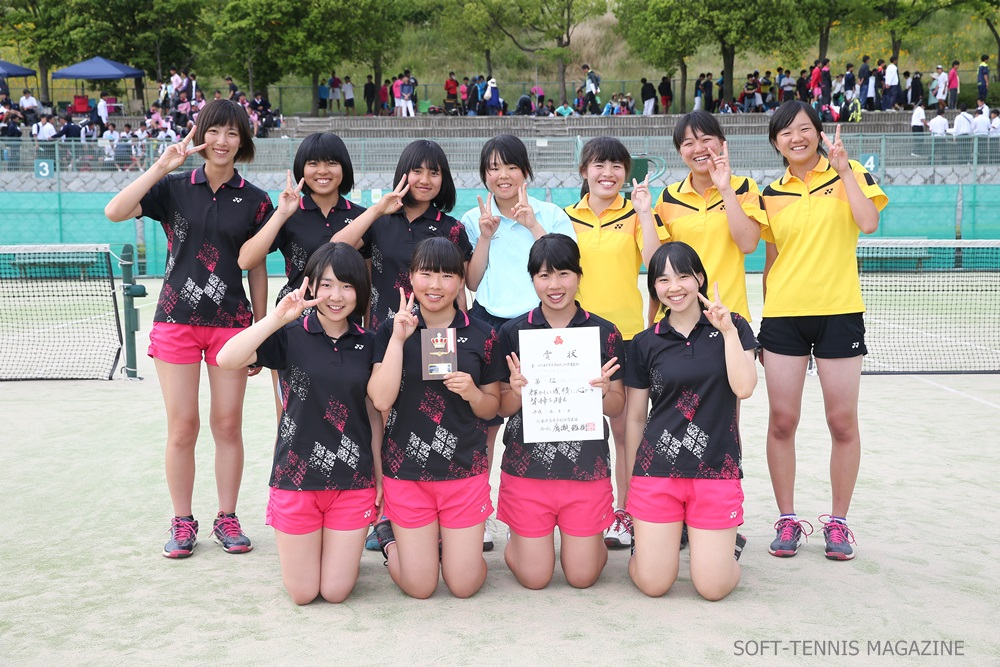 兵庫県・女子3位の