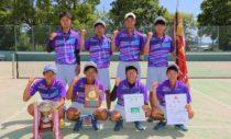 奈良県・男子優勝の高田商業は、春の全日本選抜大会優勝校。春夏連覇を目指す