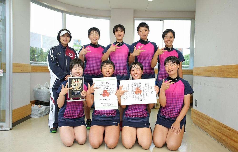青森県・女子団体準優勝の八戸学院光星