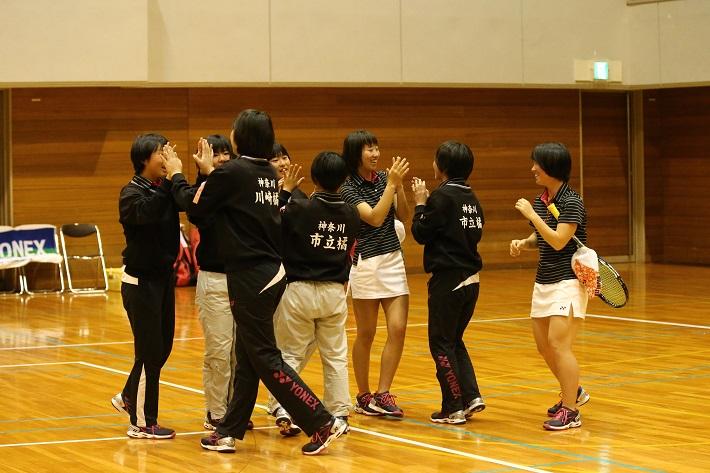 昨日、初戦を勝ち上がり、本日の二回戦で福知山成美に挑んだ川崎橘