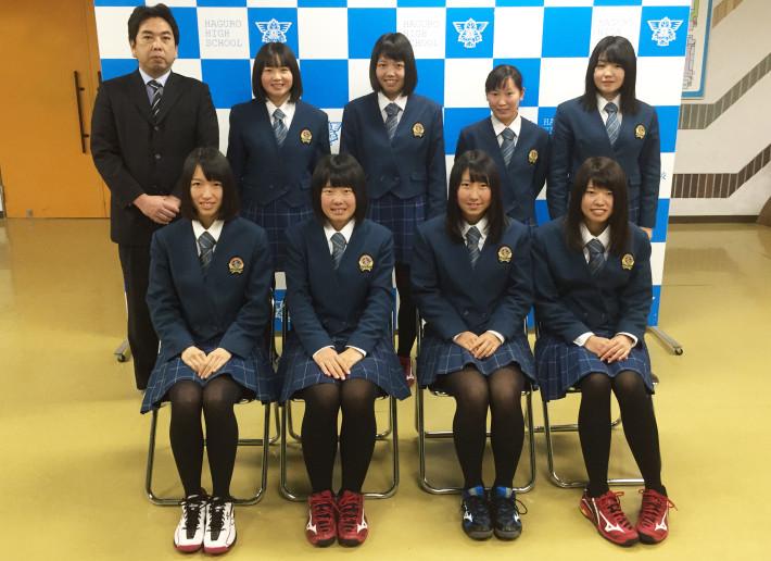 003羽黒女子ソフトテニス部