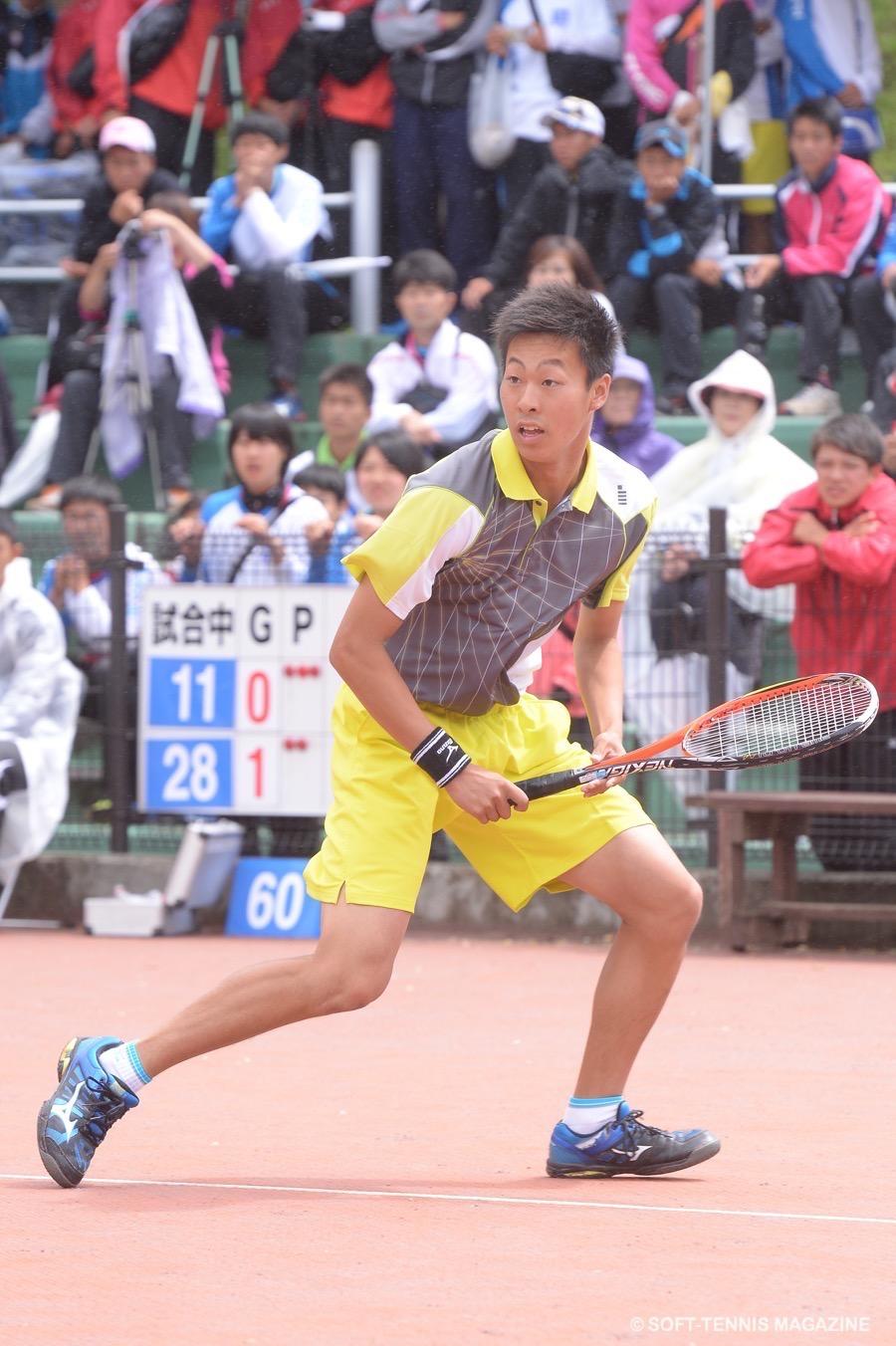 今年もやっぱり上松は強かった! 11月には千葉のアジア選手権に日本代表として出場する超高校級前衛