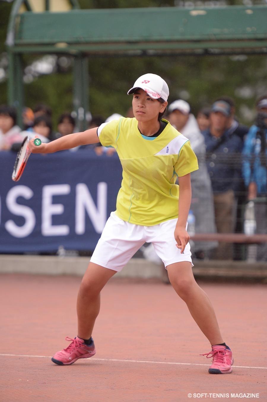 準優勝の修大附鈴峯・笠井菜々子は2年生。これから楽しみ!
