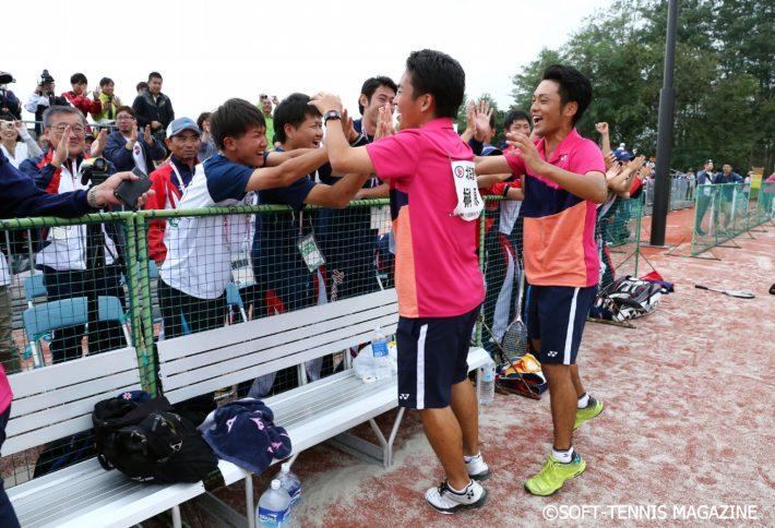 北海道尚志学園高(現・北海道科学大高)出身の日体大ペア・榊原/河野が北海道の成年男子優勝を決めた