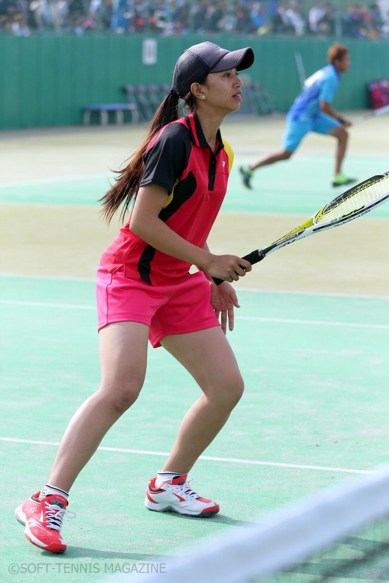 アジア選手権でのシュレスタさん
