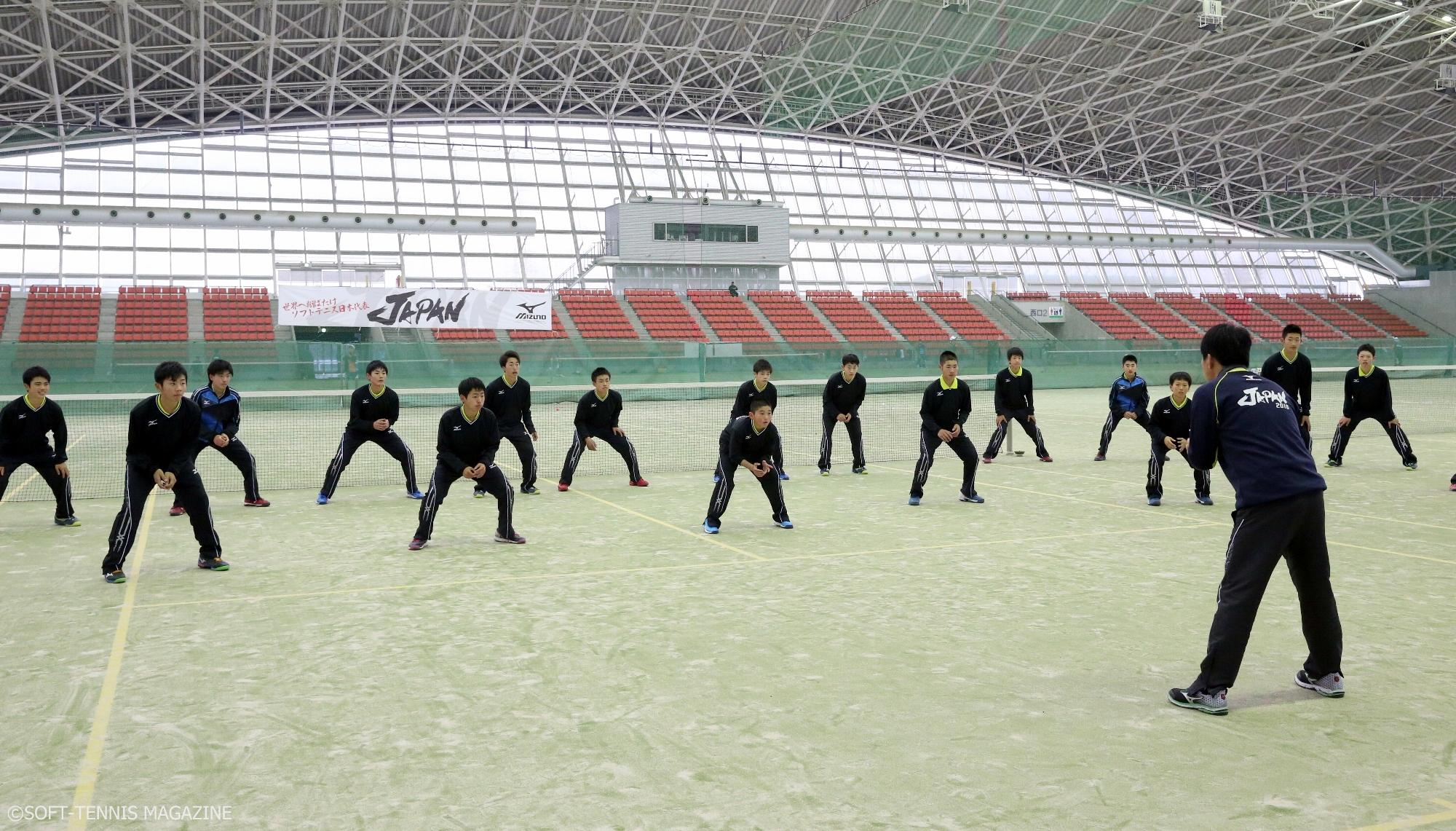 U-14男子が合宿で取り組んでいたトレーニングをレポート!
