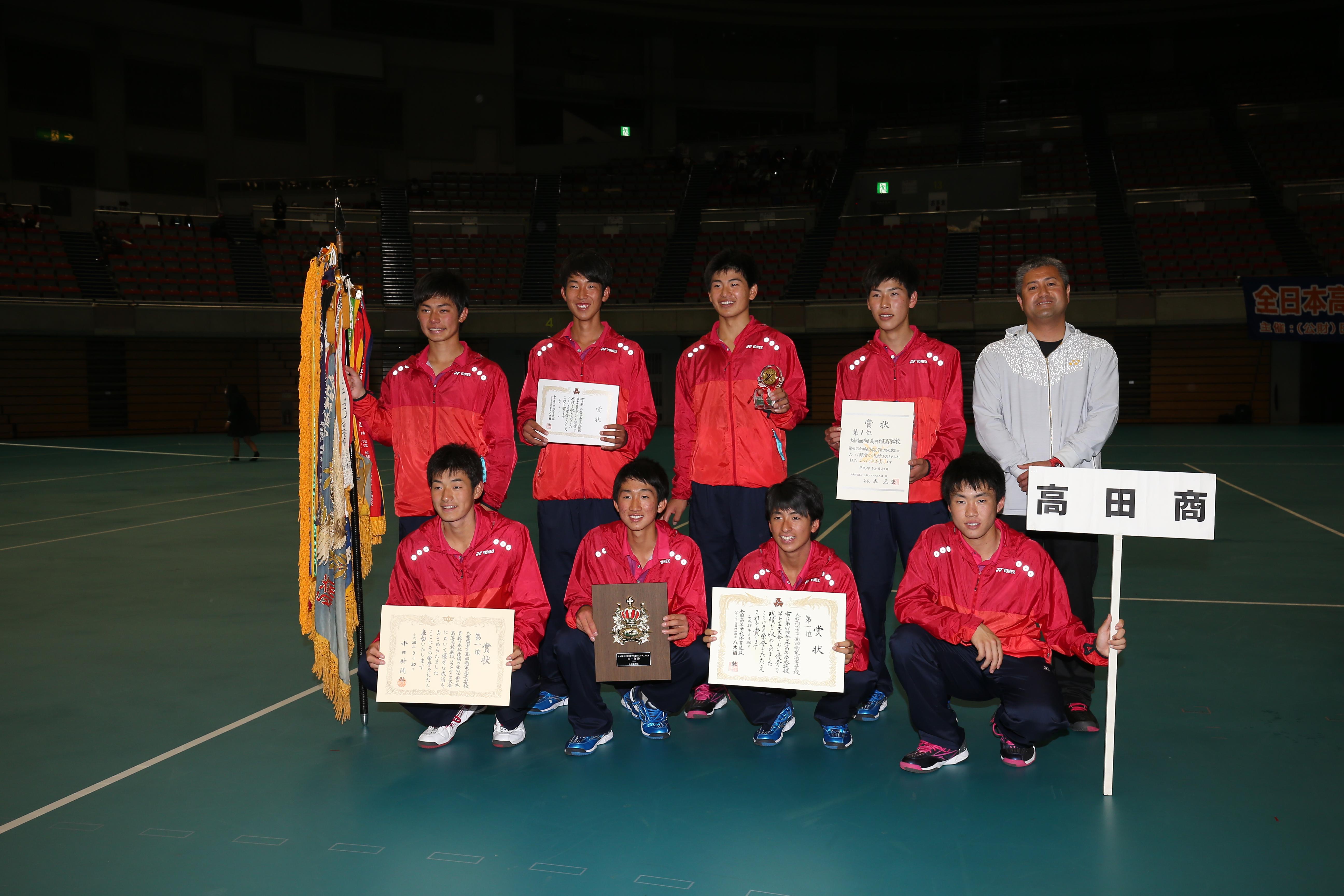高田商業は2017選抜前の時点で、選抜10回、インターハイ19回の優勝実績