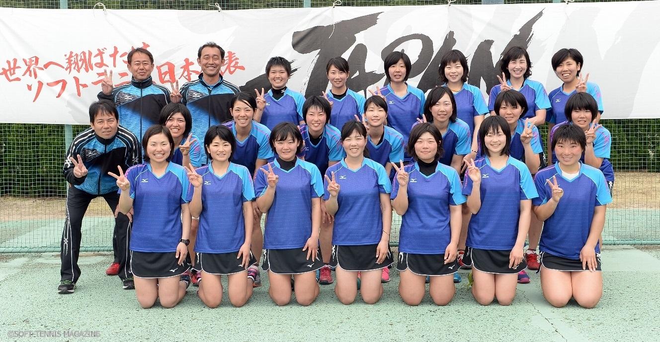 2017女子ナショナルチーム! 男子より多めの20選手とスタッフ