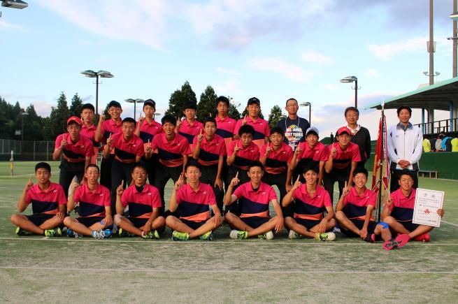 男子優勝の金沢学院。17年ぶり2度目の栄冠!