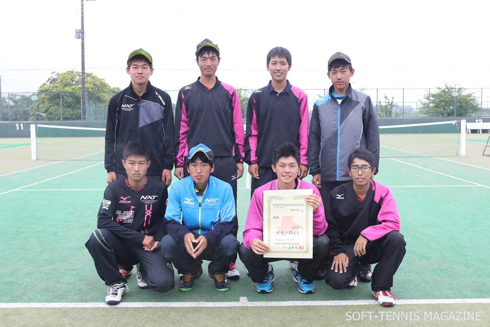 千葉・男子団体3位の昭和学院