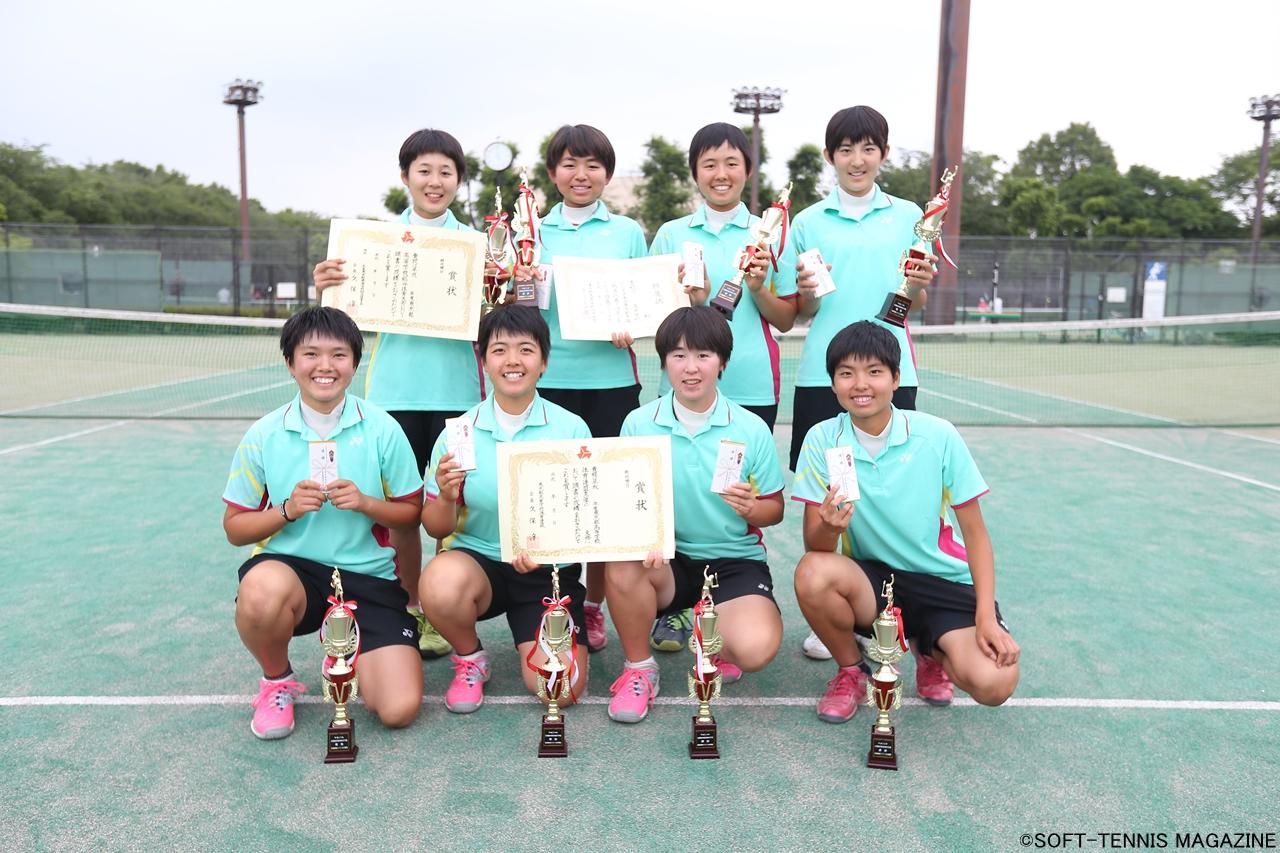 東京・女子優勝の文大杉並は7連覇