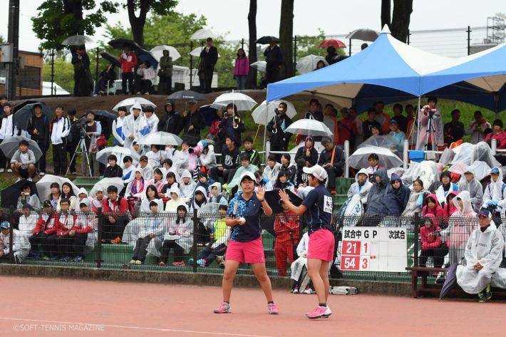 同じく雨だった昨年のハイジャパでは決勝ではお日様も顔をのぞかせたが、今年は終始雨もようのなかで行われた