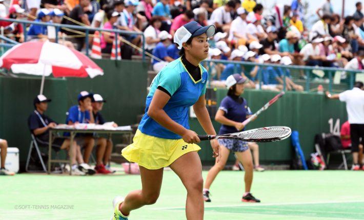 インターハイ 女子 ソフトテニス