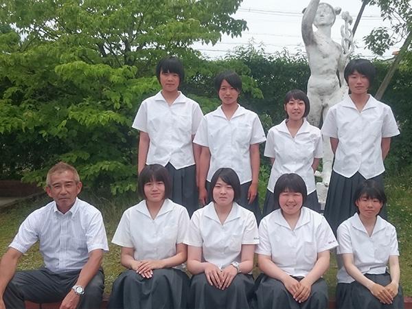 高田商業選手写真