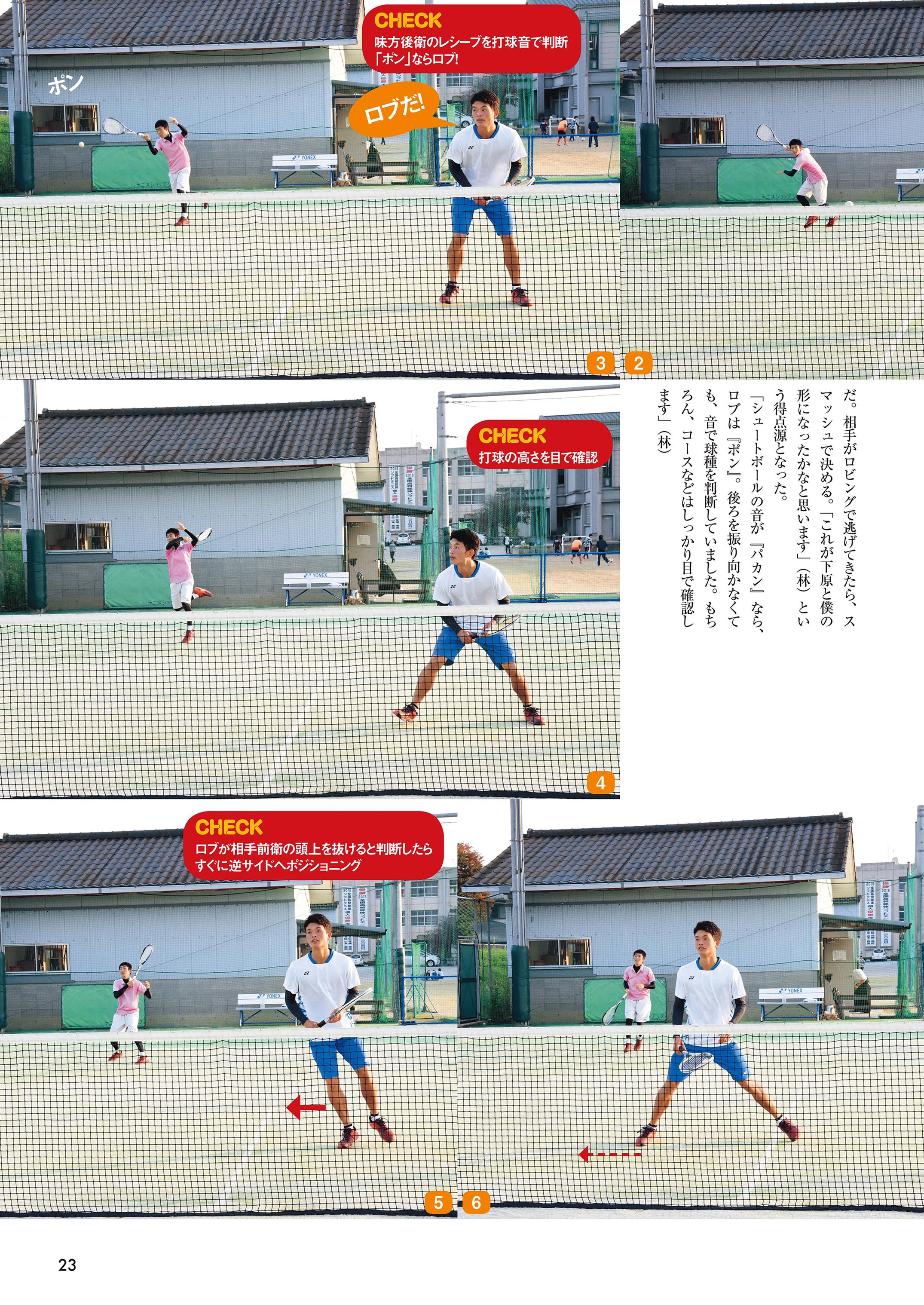 ソフトテニスマガジン2019年2月号P23