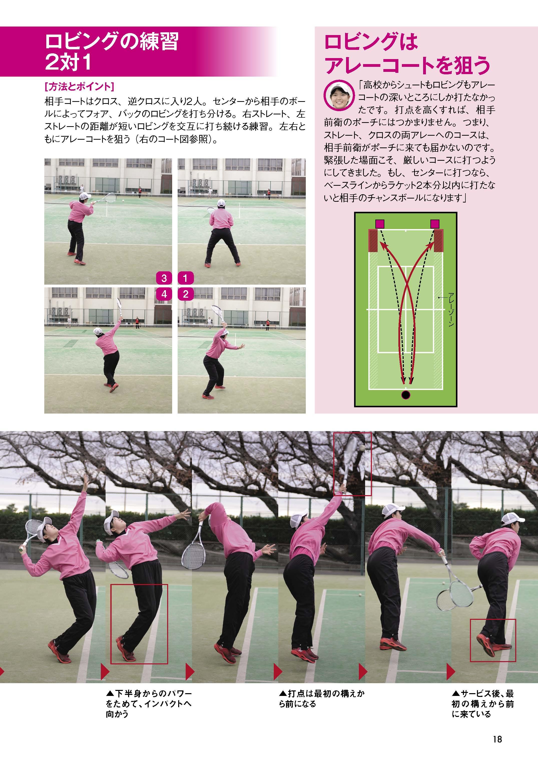 ソフトテニスマガジン2019年2月号P18