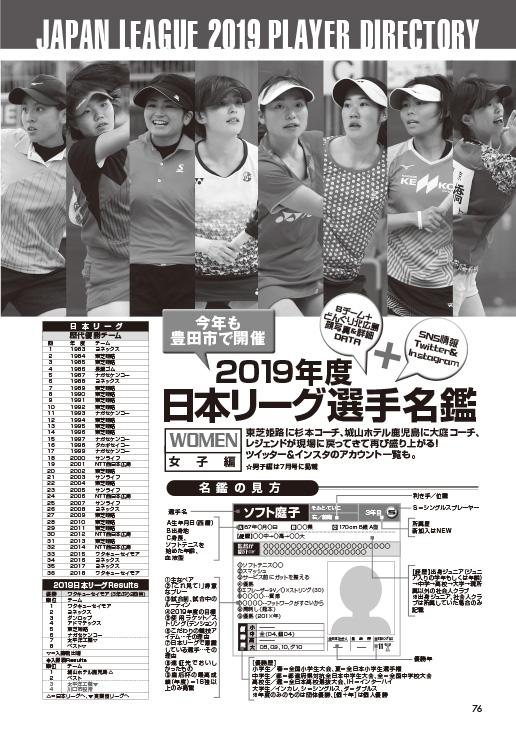 ソフトテニスマガジン2019年8月号-P76