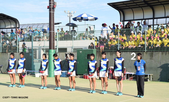 ソフトテニス インターハイ 女子 【インハイ】女子団体戦最終結果