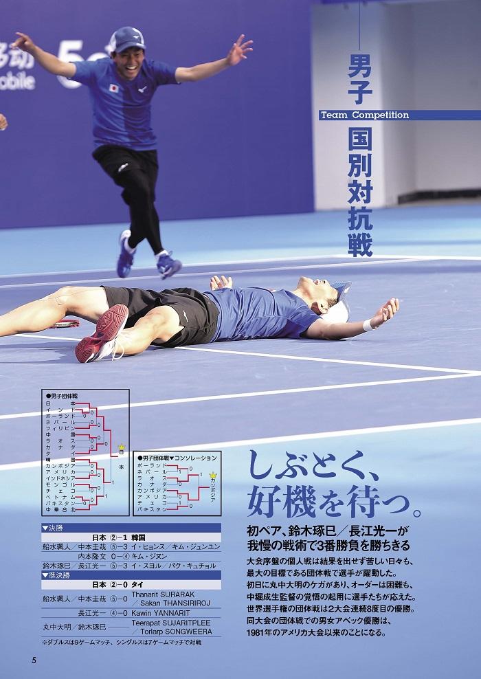 ソフトテニスマガジン2020年1月号